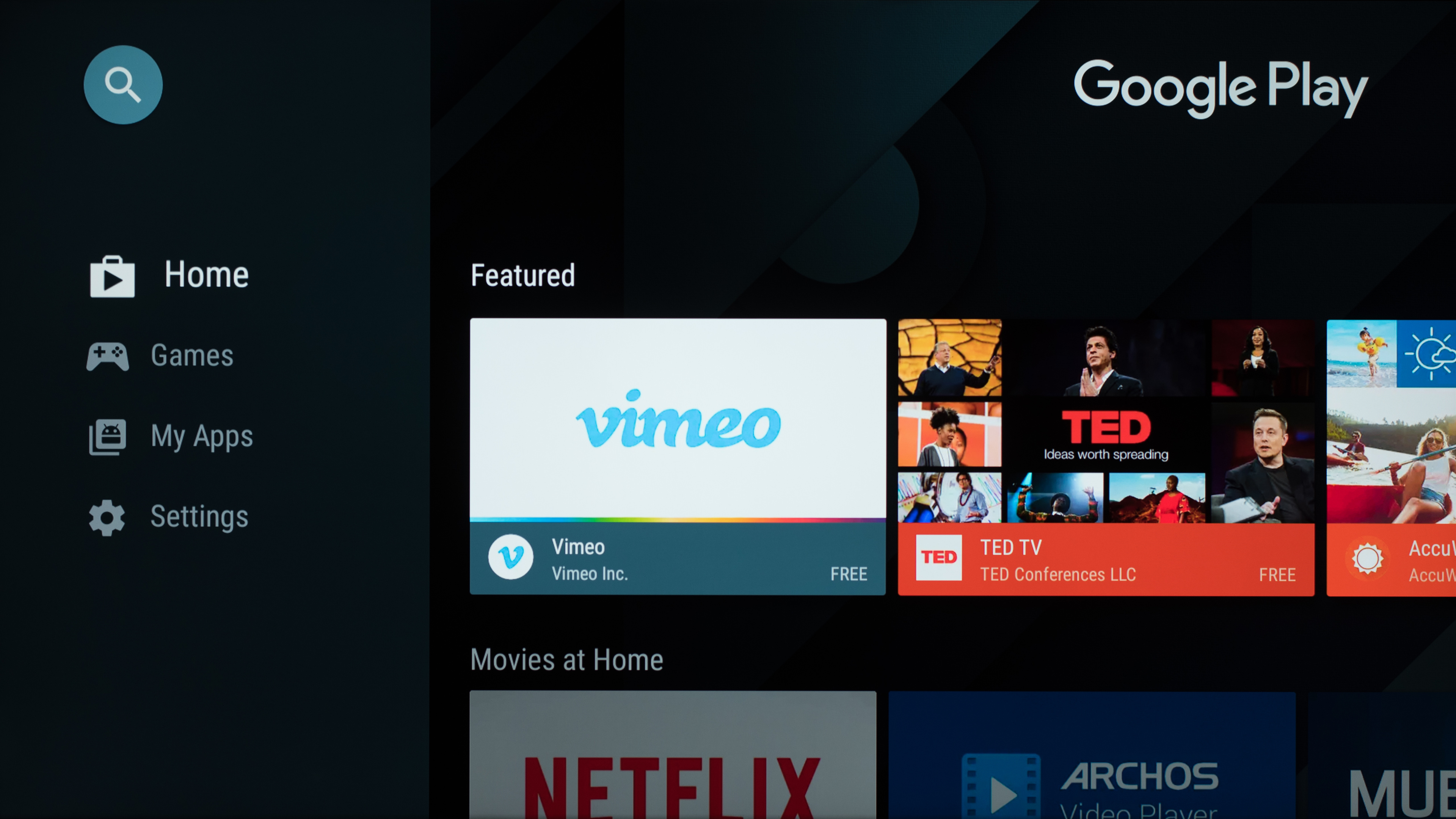 sony smart tv apps